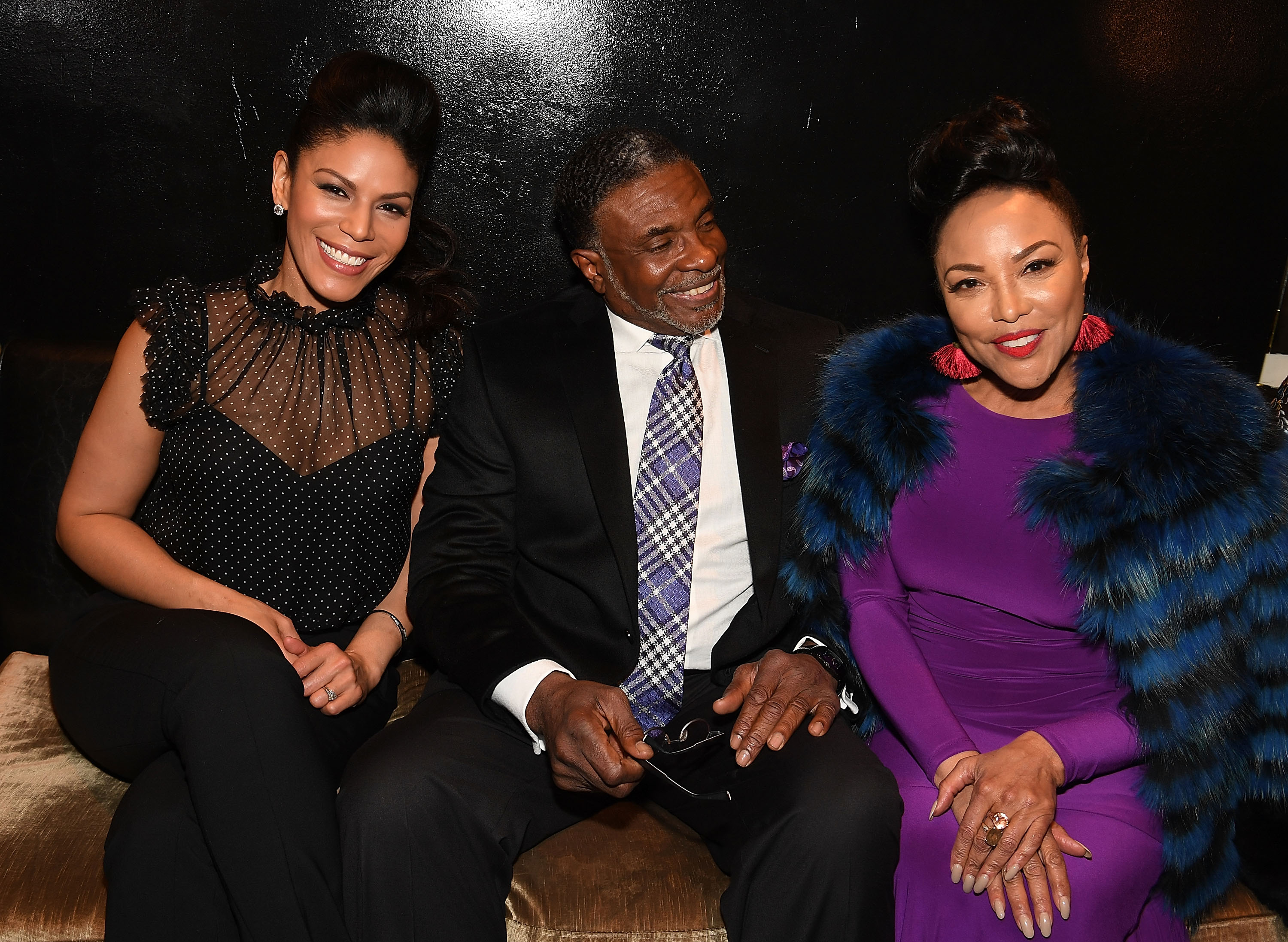greenleaf cast at season 2 premiere party in atlanta