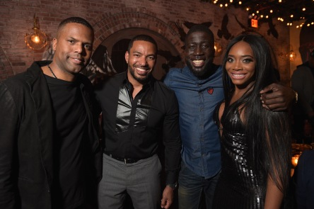 laz alonso remy martin birthday party