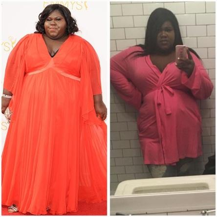 gabourney sidibe weight loss