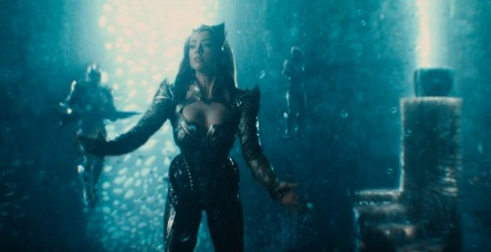 amber heard as mera in the justice league movie