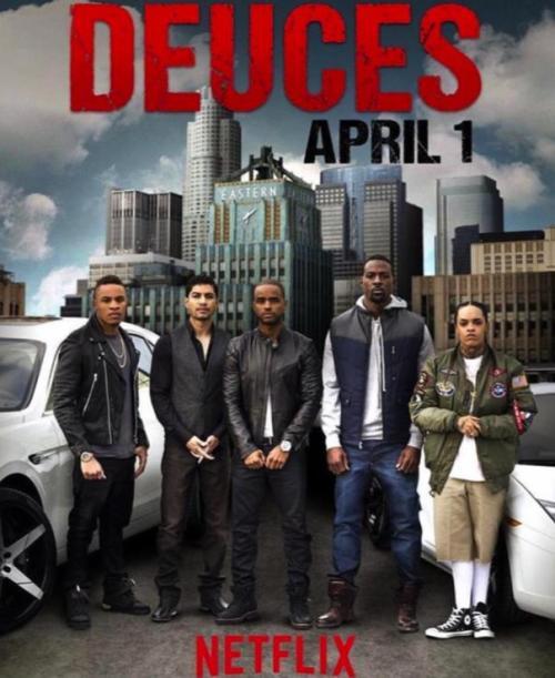 deuces the movie netflix movie poster