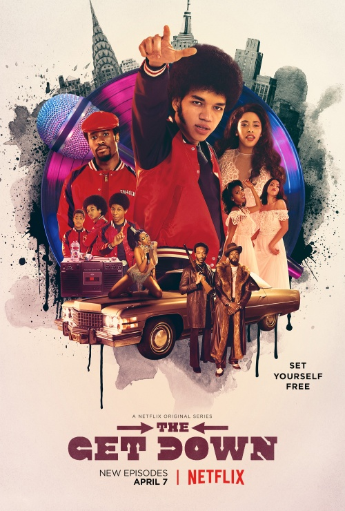 the get down key art poster