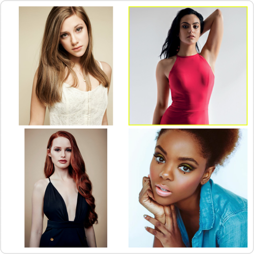 riverdale female lead cast
