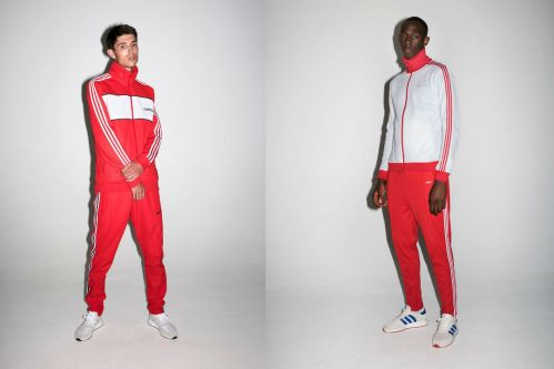 adidas originals three stripe tracksuit