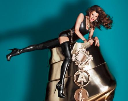 Anna Dello Russo in her H&M ad