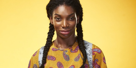 michaela coel as tracey gordon in chewing gum