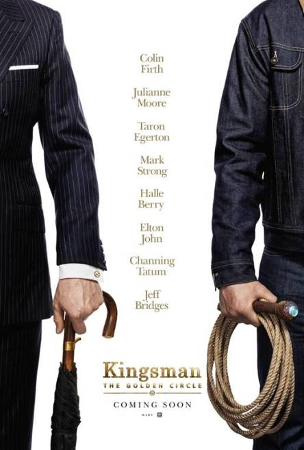 the kingsman the golden circle movie poster