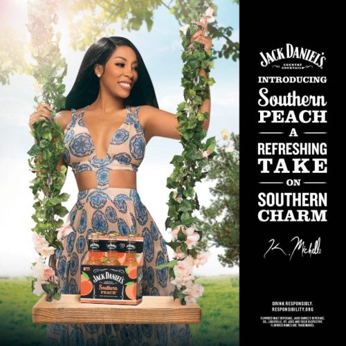 k. michelle souther peach jack daniels promo poster