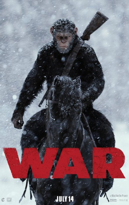 war for the planet of the apes movie poster