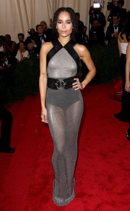 Zoe Kravitz at the Met Ball