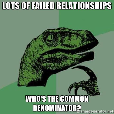 common denominator velociraptor meme