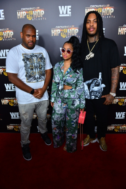 Brandon Barnes, Tammy Rivera, and Waka Flocka