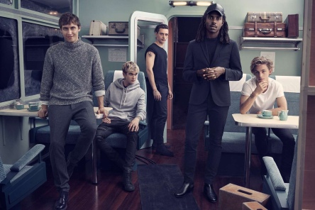 Dev Hynes in the H&M holiday 2016 campaign