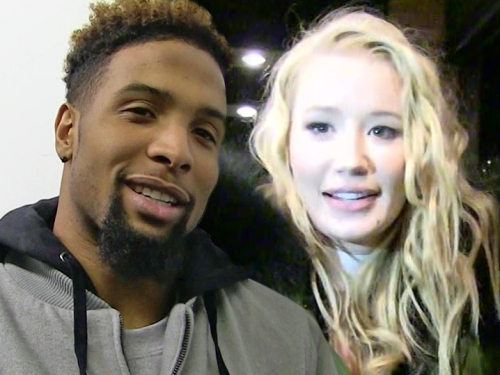 Odell Beckham Jr and iggy azalea
