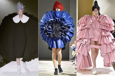 Comme des Garcon by rei Kawakubo as featured in this years Met Gala
