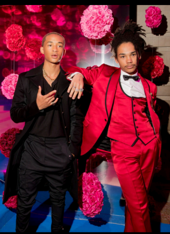 Jaden Smith and Luka Sabbat at the Met Gala