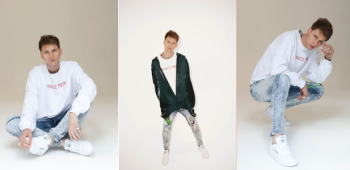 machine gun kelly at reebok classic photo shoot kontrol magazine