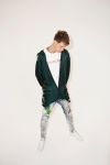 machine gun kelly at reebok classic photo shoot