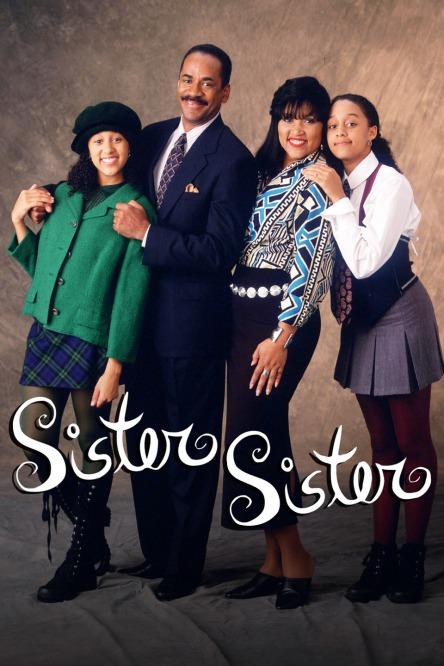 Tamera Mowry, Tim Reid, Jackee Harry and Tia Mowry star in Sister, Sister.