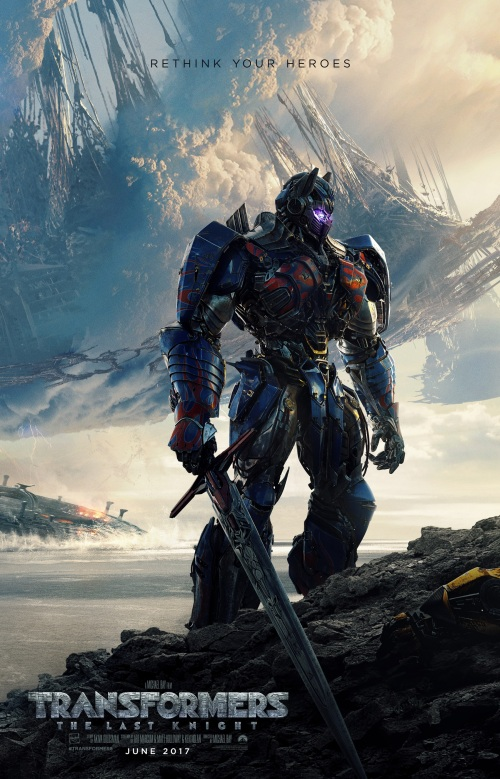 transformers the last knight movie poster