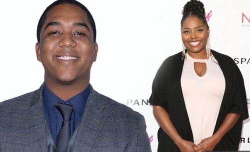 Actors Chris Massey and Shar Jackson