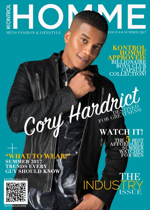 Cory Hardrict Kontrol Homme Cover