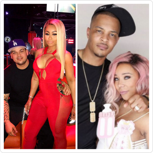 rob karashian reveals threesome between TI, Tiny, and Blac Chyna
