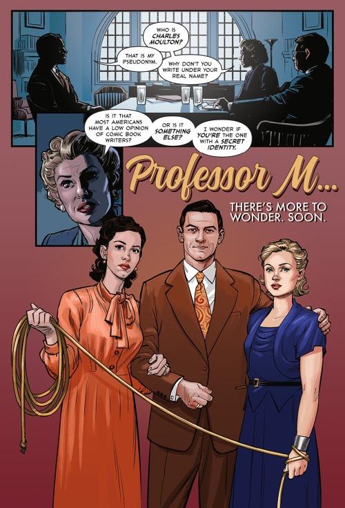 professor marston, elizabeth marston, and olivia byrne