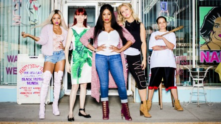 cast of claws with niecy nash