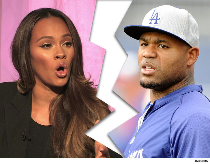 carl crawford and evelyn lozada