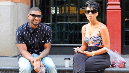, Usher's Wife, Grace Miguel, Believes Herpes Lawsuit is Fake!
