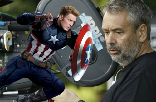 luc besson and captain america