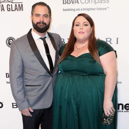 sexy chrissy metz and her boyfriend josh stancil