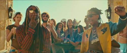 wiz khalifa and ty dolla sign in something new music video