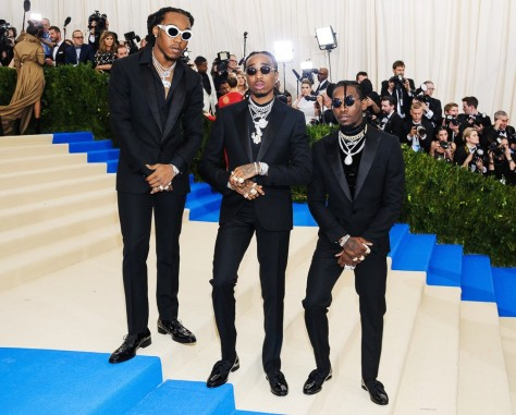 Migos at the 2017 Met Gala