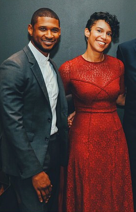 usher and grace miguel